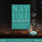 nature and chronic conditions